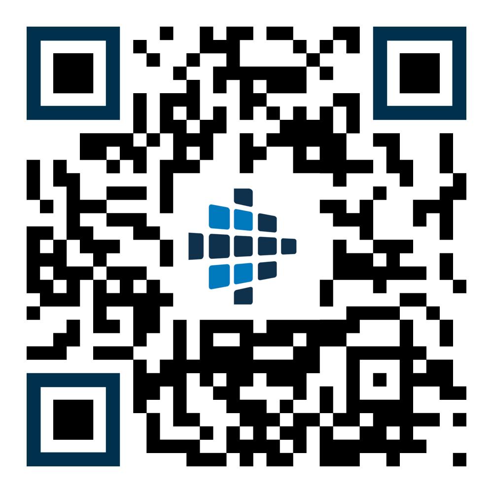 QR-Code, der die my blue:app® - bau:doku aufruft.